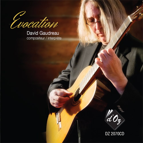 David Gaudreau - Evocation - CD