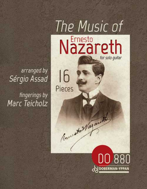 The Music of Ernesto Nazareth - 16 Pieces