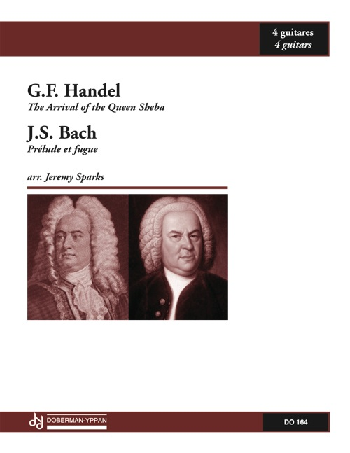 BACH, Prelude and Fugue / HANDEL, The Queen of Sheba