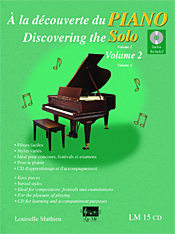 À la découverte du piano solo, vol. 2 (incl. CD)