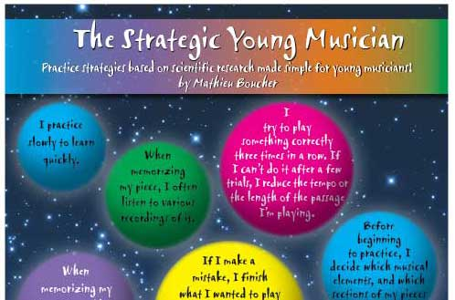 The Strategic Young Musician, poster 13x19