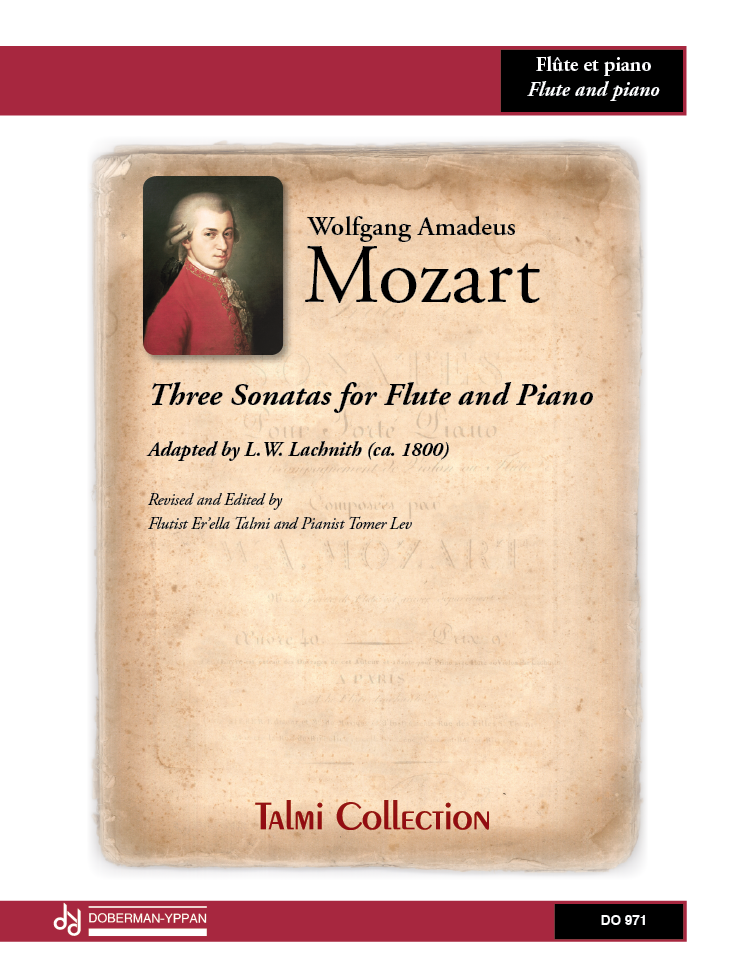 Three Sonatas for Flute and Piano