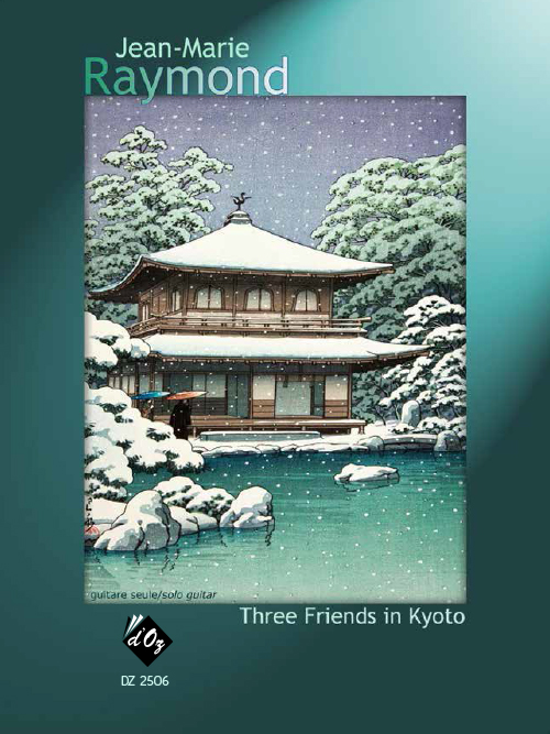 Three Friends in Kyoto