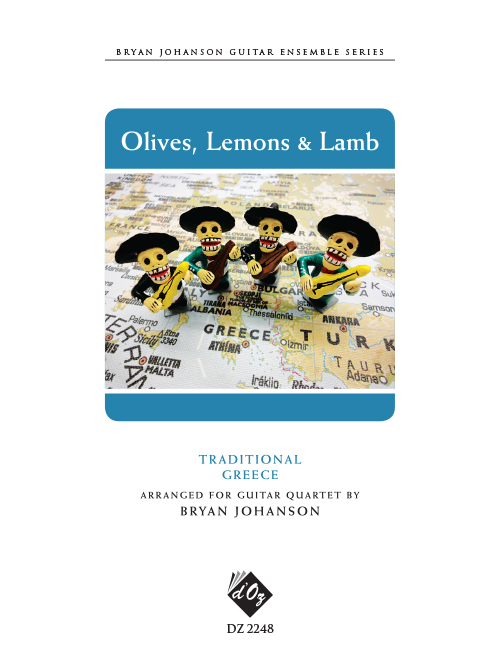 World Tour - Olives, Lemons and Lamb - Greece