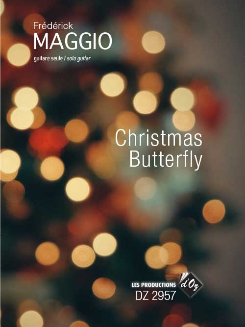 Christmas Butterfly