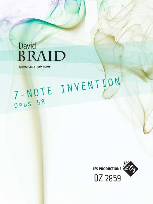 7-Note Invention, Opus 58