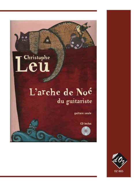 L'arche de Noé du guitariste, vol. 1 (CD inclus)