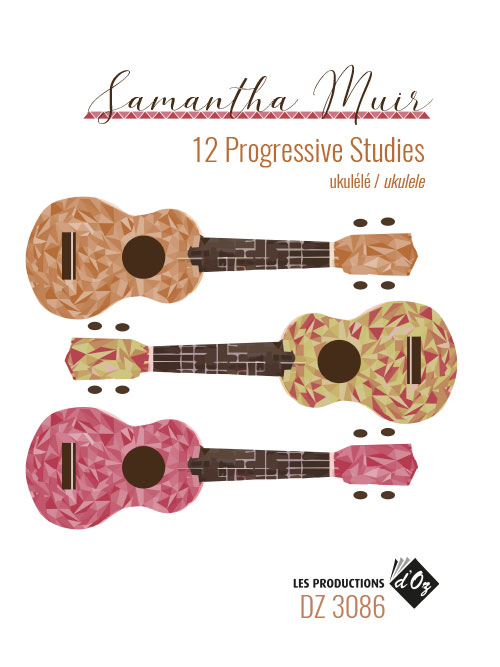 12 Progressive Studies for Ukulele