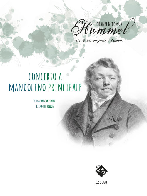 Concerto a mandolino principale (réduction de piano)
