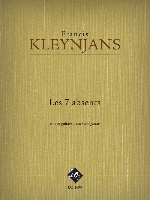 Les 7 absents, opus 274