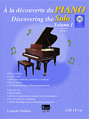 À la découverte du piano solo, vol. 1 (incl. CD)